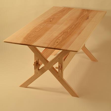 table longue bois